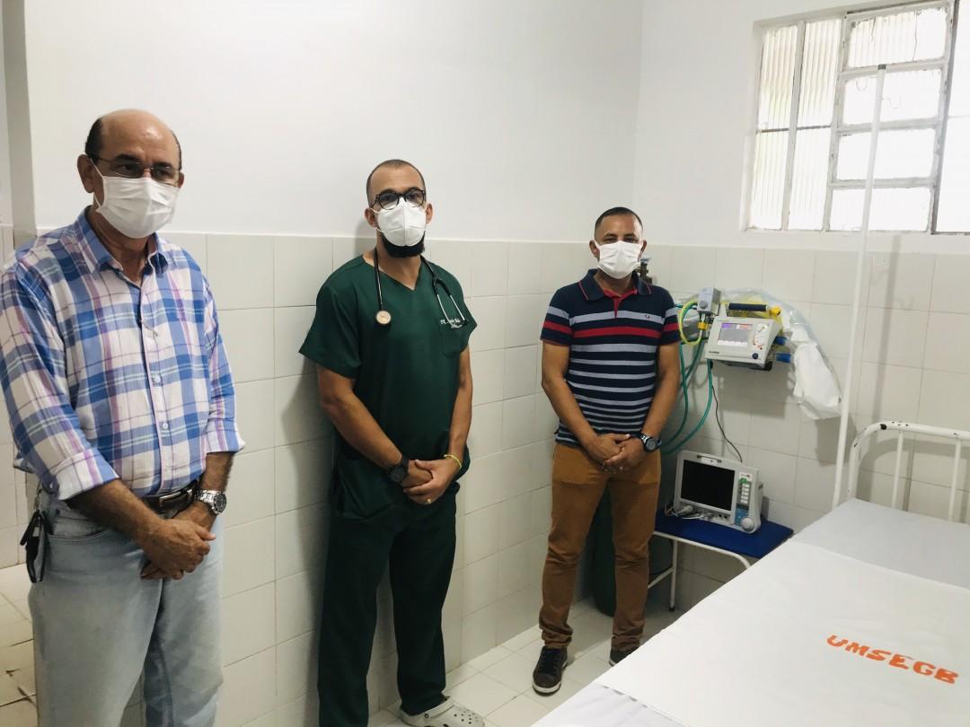 Nosso Município Instala Respiradores para Uso no COVID-19